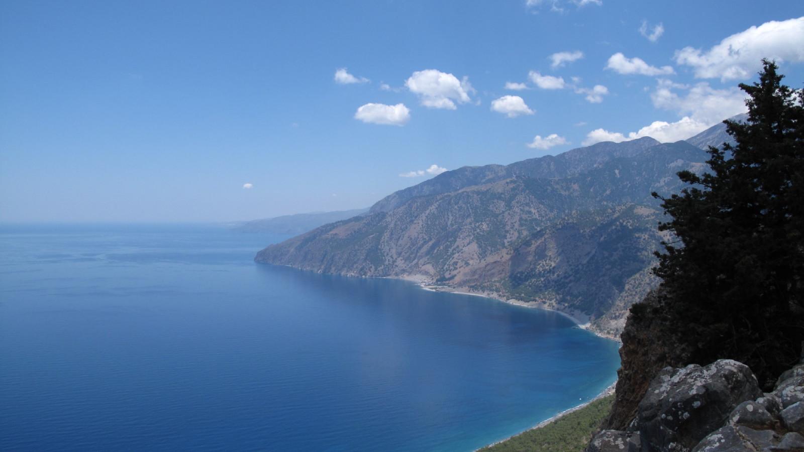 View towards Agia Roumeli