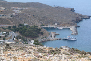 View towards the village of Sfakia